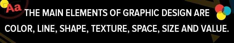 Graphic Designers User Main Elements In Designs