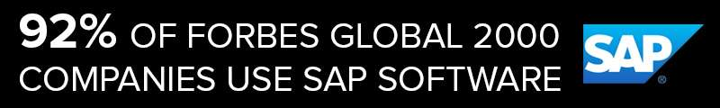 SAP Consulting Companies Help 92% Of Forbes Global 2000 Companies Use SAP Software