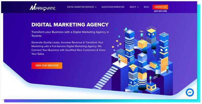 Markovate_DesignRush Digital Agency Directory