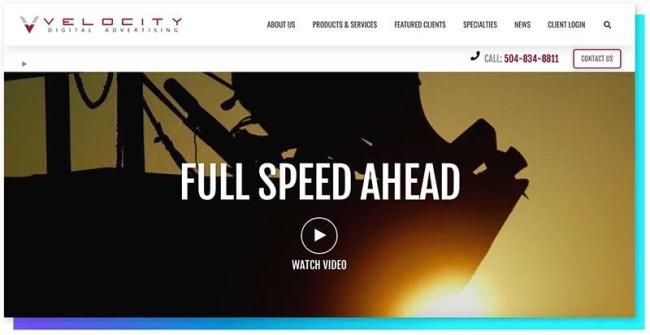 velocity_DesignRush Digital Agency Directory