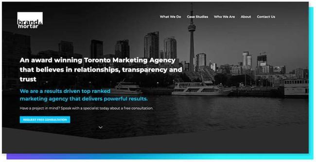 brand & mortar_DesignRush Digital Agency Directory