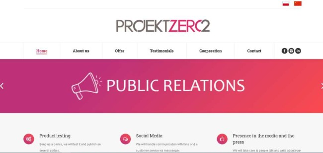 Projekt Zero2_Design Rush Digital Agency Directory
