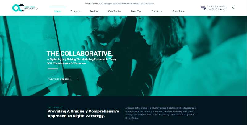 Andreson Collaborative web