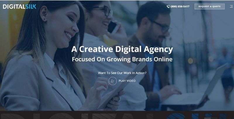 MIami web development company - Digital Silk