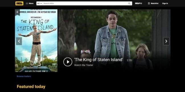 Movie streaming websites: IMDb