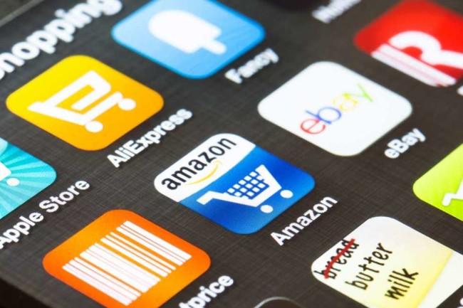 Amazon shopping app on a mobile screen