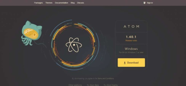 :ftware Development Tools: Atom Site Homepage
