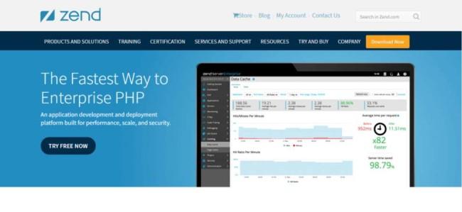 Software Development Tools: Zend Site Homepage