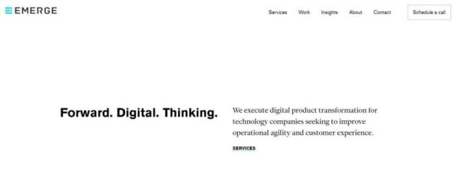 agile development company - Emerge Interactive