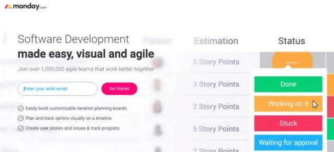 Monday Agile Project Management Tool