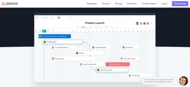 Asana Agile Software Development Tool