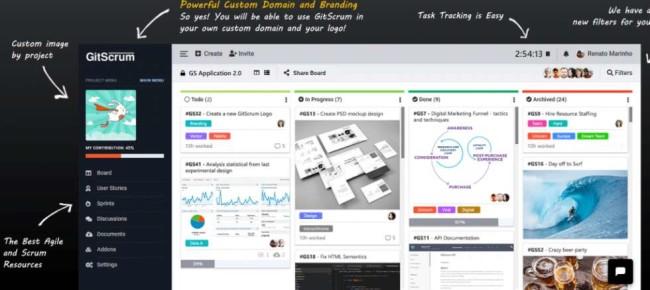 Gitscrum Agile Project Management Tool