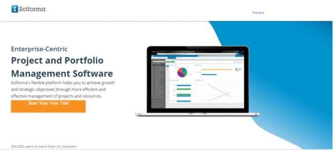 Sciforma Agile Software Development Tool