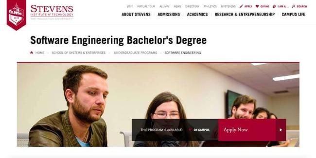 university - Stevens Institute Of Technology - best schools for software engineering