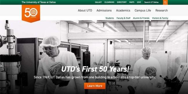 university - The University of Texas at Dallas