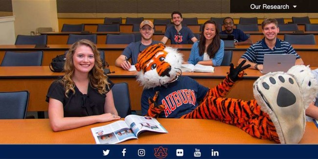 best schools for software engineering: Auburn University