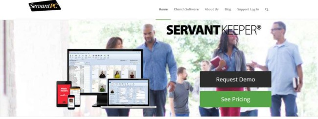 Servant Keeper - church management software