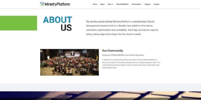 ministry platform