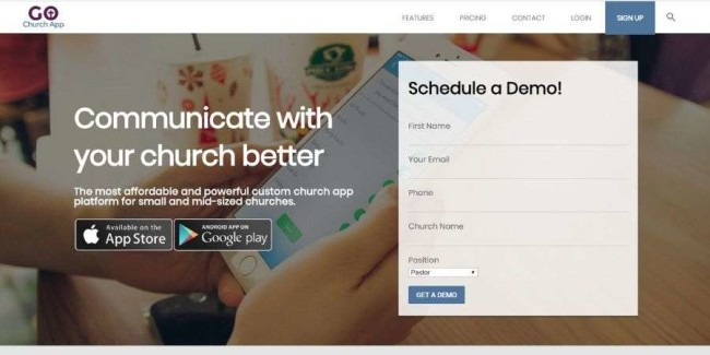 Go Church App - church management software solution