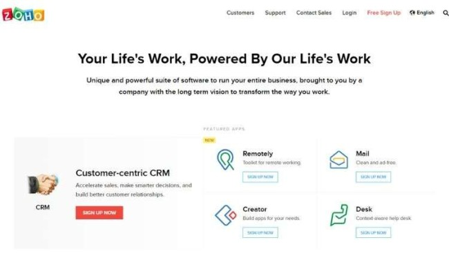 Zoho Inventory - open source inventory management software