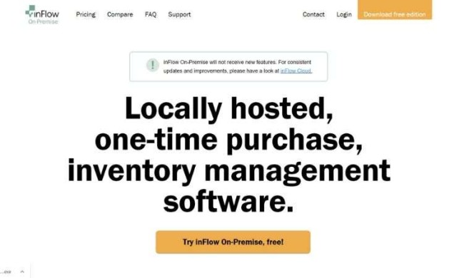 inFlow On-Premise - open source wearhouse management system