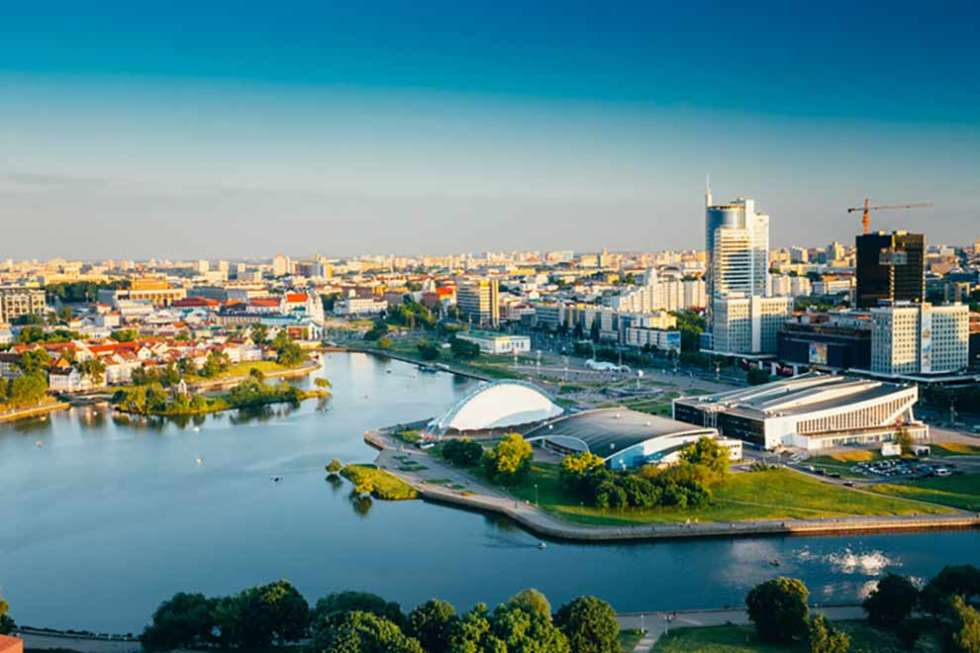 Belarus skyline