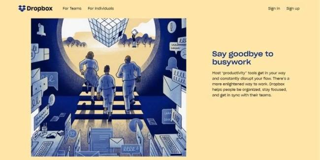 Top SaaS companies: Dropbox