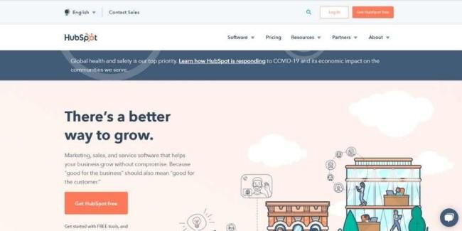 Top SaaS companies: HubSpot