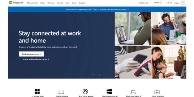 Top SaaS companies: Microsoft