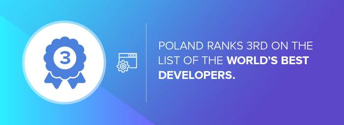 Poland developers rankings