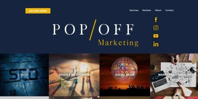 Denver web design companies: PopOFFMarketing