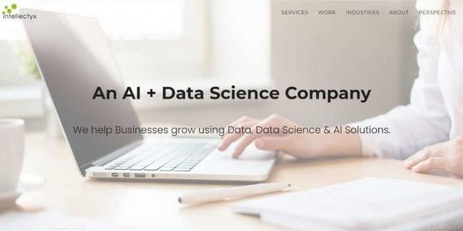 Intellectyx website