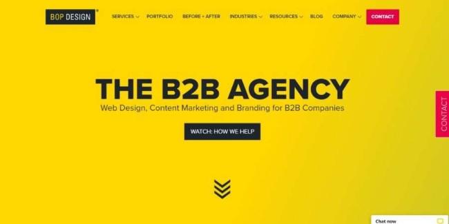 San Diego website design companies: Bop-Design