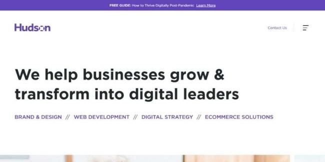 Top NJ website design companies: Hudson Integrated
