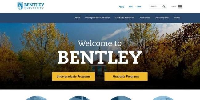 Best marketing schools: Bentley University