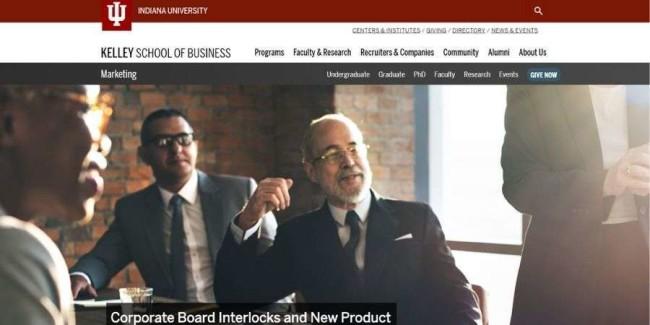 Best marketing schools: Indiana University—Bloomington