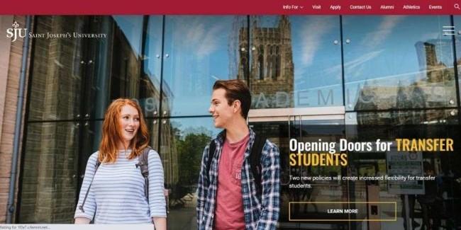Best marketing schools: Saint Joseph's University