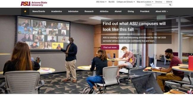 Best marketing schools: Arizona State University – Tempe
