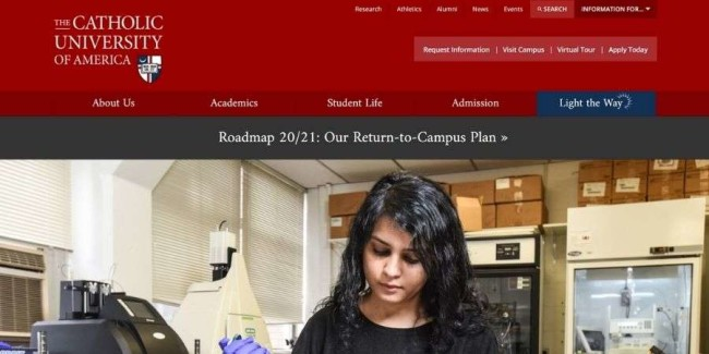 Best marketing schools: The Catholic University Of America