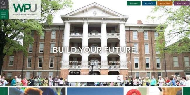 Best marketing schools: William Peace University