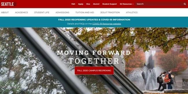 Seattle University website