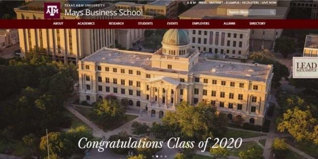 Texas A&M University website