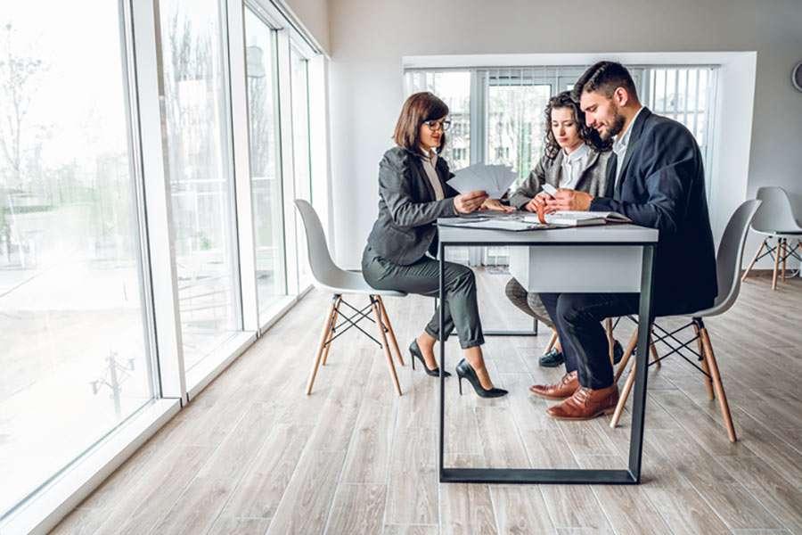 financial business meeting