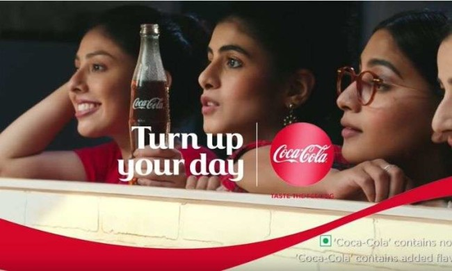 Brand tone of voice: Coca Cola's advertisement