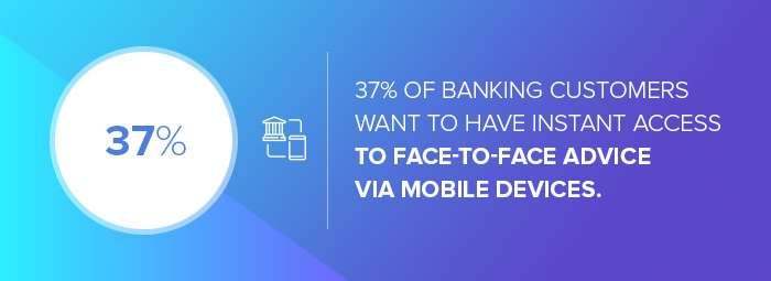 Digital marketing agencies for financial services: the number of banking customers that want face-to-face advice