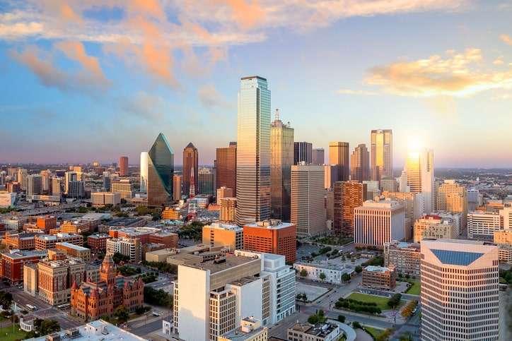 Dallas SEO: View of Dallas cityscape