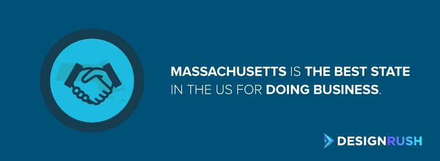 Public relations firms in Massachusetts: the best state in the US for doing business.