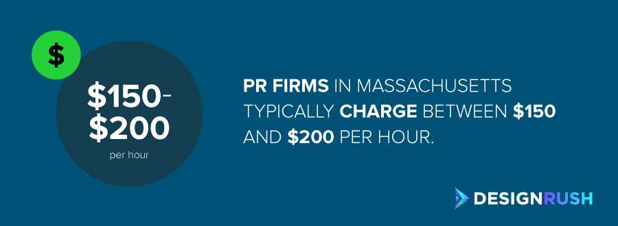 The cost of public relations firms in Massachusetts