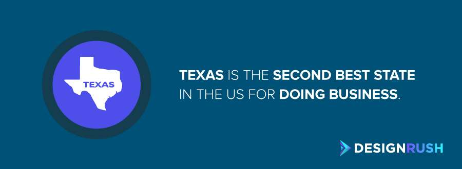 Texas PR firms: the second best state in the US for doing business.