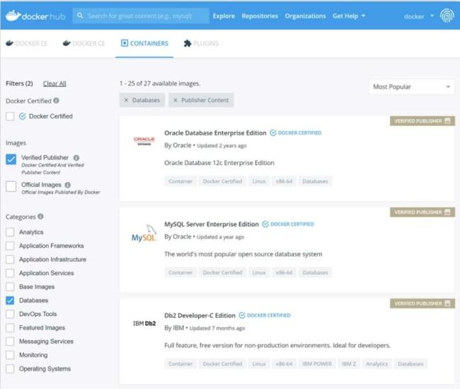 Best DevOps tools: Docker website